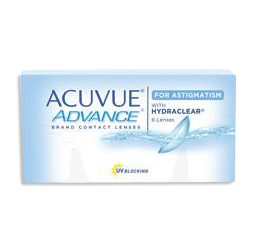 Acuvue Advance for Astigmatism contact lenses sunrise fl