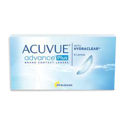 Acuvue advance plus with hydraclear contact lenses sunrise fl