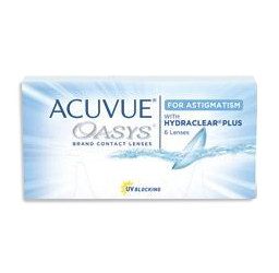 Acuvue Oasys for Astigmatism contact lenses sunrise fl