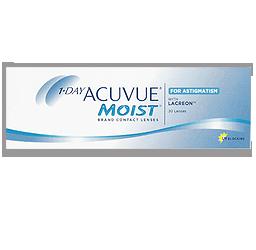 Acuvue Moist for Astigmatism contact lenses sunrise fl