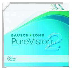 Pure Vision 2HD sunrise fl contact lenses