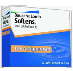 SofLens Toric for Astigmatism sunrise fl contact lenses