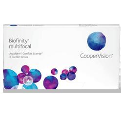 Biofinity Multifocal contact lenses in sunrise fl